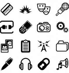 network and computing icon vector image