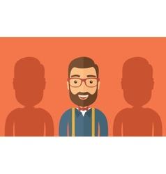 The best employee vector image