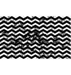zig zag grunge seamless pattern vector image