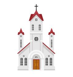 traditional christian catholic faith church vector image