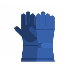 Winter Sport Gloves vector image