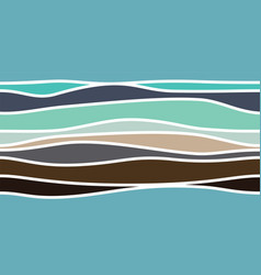 abstract colour stripes vector image