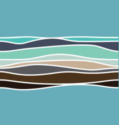 Abstract colour stripes vector
