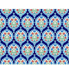 Background with seamless pattern three vector