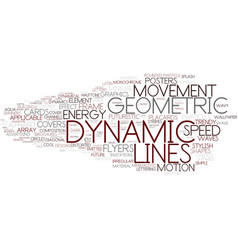 Dynamic word cloud concept vector