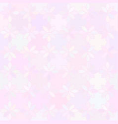 Flower background abstract seamless pattern vector