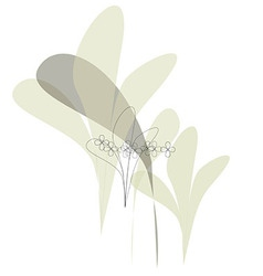 Flowers flower fashion print soft vector