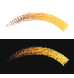make-up cosmetic mascara brush stroke vector image