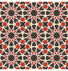 Morocco wall tiles vector