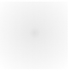 small grey dots gradient on white background vector image