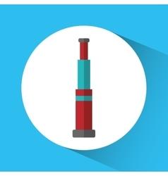 Telescope nautical marine icon graphic vector
