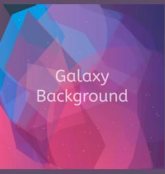Galaxy background vector