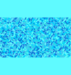 abstract colorful random geometrical mosaic vector image