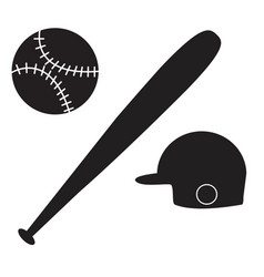 Baseball icon on white background baseball sign vector
