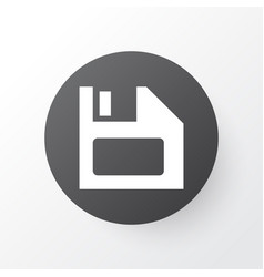 Floppy disk icon symbol premium quality isolated vector