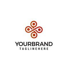 interior emblem logo design concept template vector image