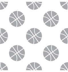 New Basketball seamless pattern vector image