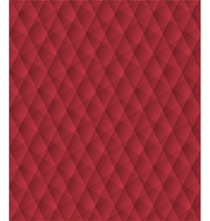 Red geometric pattern abstract background vector image