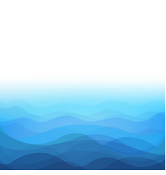 Sea background vector