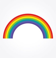 Simple classic rainbow vector
