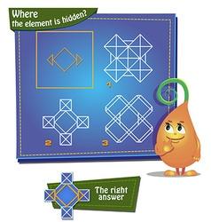 Where the element is hidden vector