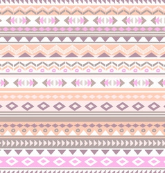 pastel tribal stripe vector image vector image