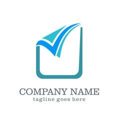 Check list sign business logo vector
