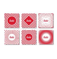Set Sale Banner vector image vector image