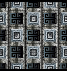 ancient greek key seamless pattern modern vector image