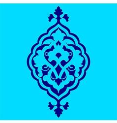 Artistic ottoman pattern series sixty nine vector