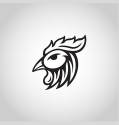 chicken logo icon vector image