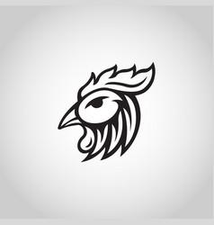 chicken logo icon vector image