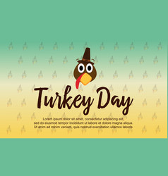 collection stock thanksgiving theme background vector image