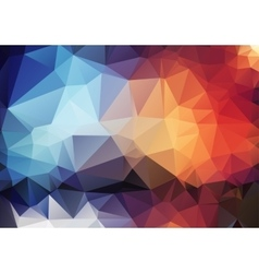 Colorful pattern of angular geometric shapes vector