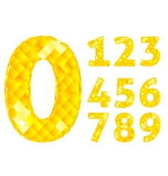 Diamond numbers vector
