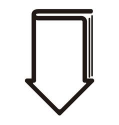 e-book download graphic design vector image