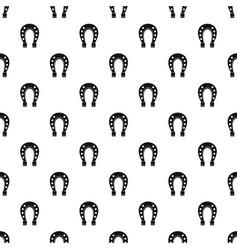 horse shoe pattern vector image