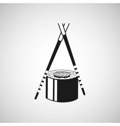 japanese food design vector image