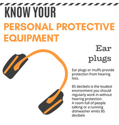 personal protective equipment vector image