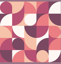 seamless abstract geometric round texture vector image