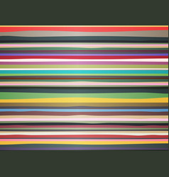 style background from colorful stripes vector image