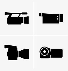 Video cameras vector