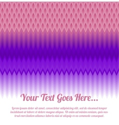 Zigzag background eps10 vector image