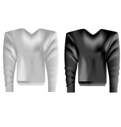 apparel on a white vector image