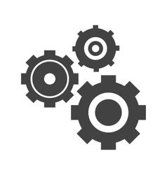Multiple cogwheels vector