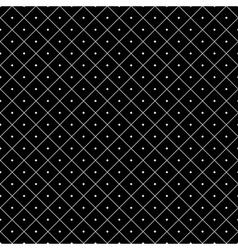 Polka dot seamless pattern Rhombus ornament 3 vector image