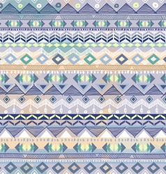 blue pastel tribal stripe vector image vector image