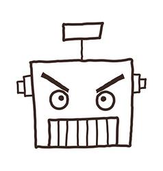 A robots head vector
