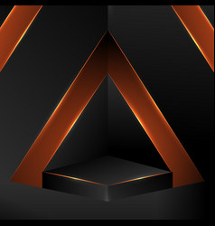 abstract polygonal background design low polygon vector image