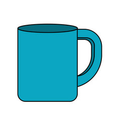 Cup to drink with nice design vector